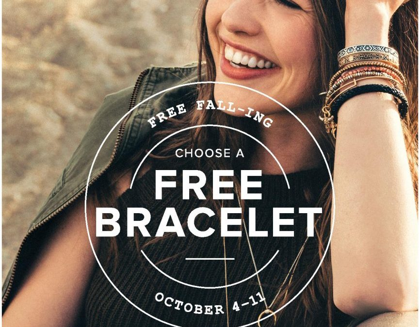 Alex And Ani: Free Fall-ing October 4th – 11th